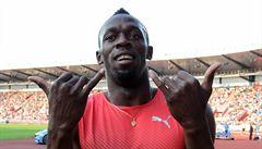 Fenomenální Bolt ovládl Zlatou tretru. Kromě něj zářili 'bezejmenní' Češi