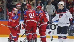 Rusové rozstříleli Američany 7:2 a na domácím šampionátu berou alespoň bronz