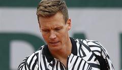 Berdych si dnes nezahraje. Pondělní program Roland Garros zrušil déšť