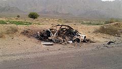 Vůdce Talibanu Mansúr při sobotním útoku zemřel, potvrdil Bílý dům