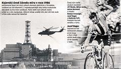 POHNUTÉ OSUDY: Nad Pelotonem létal radioaktivní mrak. Cyklisté museli na závod k Černobylu