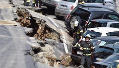 V centru Florencie se propadlo nábřeží v délce 200 metrů