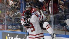 Divokou zámořskou bitvu zvládla lépe Kanada a ve finále šampionátu vyzve Finsko