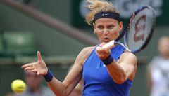 Šafářová vzdala kvůli žaludečním potížím zápas ve dvouhře. Je ohrožena i čtyřhra?