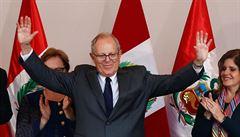 Těsné prezidentské volby v Peru: bývalý bankéř Kuczynski asi vyhrál o 0,24 procenta
