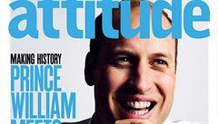 Princ William se fotil na obálku gay magazínu