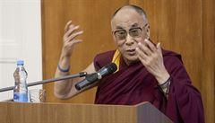 Jsem v podstatě marxista, žertoval dalajlama