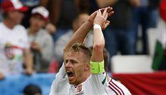 Místo výhry remíza. Islanďané si v závěru duelu s Maďary vstřelili vlastní gól
