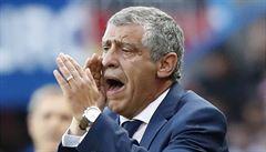 Santos motivoval hráče proslovem z bible. Portugalsko zamířilo k vítězství