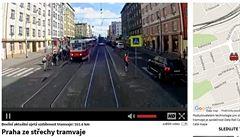 VIDEO: Tramvaji s kamerou se zlomilo kolo, ale už zase točí svou cestu Prahou