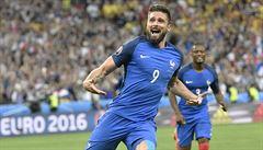 Francie - Island 5:2. Islanďané se loučí výpraskem, Francie jde do semifinále