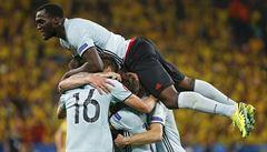 Ibrahimovič se loučí se švédským dresem porážkou. Belgii poslal dál Nainggolan