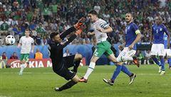 Euro plné senzací. Do osmifinále zamířili po výhře nad Italy také Irové