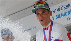 Ve třiceti letech premiéra. Kreuziger se stal poprvé českým cyklistickým mistrem