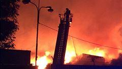 80milionový požár v Olomouci byl založen úmyslně, zjistily expertizy