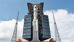 Čína vypustila do vesmíru raketu nové generace: Dlouhý pochod 7