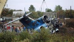 Rusové plánují 'živou' rekonstrukci havárie u Jaroslavle