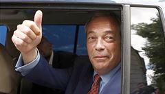 Trump by rád Farage jako velvyslance v USA, Londýn kroutí hlavou