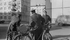 'Vítejte na výspě obrany socialismu'. Fotograf Jindra zachytil Milovice se sovětskými vojáky