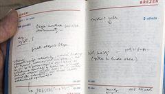 EXKLUZIVNÍ DENÍK: Havel si pedantsky zapisoval úkoly, aby se z pobytu ve vězení nezbláznil