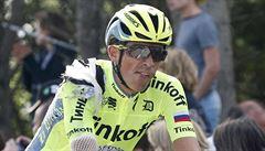 Sedmá etapa Vuelty: Contador v závěru opět na zemi, slaví 'bezejmenný' Belgičan