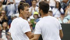 Kodeše české derby ve Wimbledonu nadchlo. Nastoupí ale Berdych v Davis Cupu?