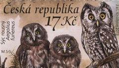 Sovy od České pošty jsou druhou nejkrásnější známkou světa. Podívejte se