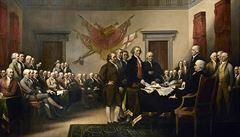 V Anglii se našla vzácná kopie americké Deklarace nezávislosti
