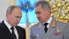 Ruský šéf obrany Šojgu nařídil, aby se vojáci z jihozápadu země vrátili na základny