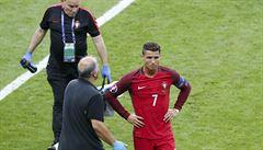 Ronaldo může chybět Realu až půl roku. Má natržený zkřížený vaz