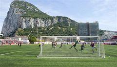 Ztrapnili slavný Celtic, ten je v klidu. Taxikáři z Gibraltaru ale fotbal umí a mají kata Skotů