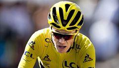 Komická Tour. Lídr Froome dobíhal do cíle bez kola, žlutý trikot oblékl Yates