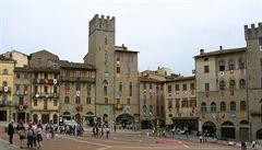 Další toskánský klenot? Filmové městečko Arezzo