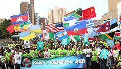 Porazí lidstvo AIDS? Na konferenci v JAR dorazili politici, celebrity i Gates