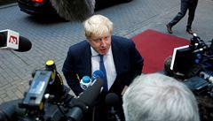 Exministr Johnson chce nahradit Mayovou v čele konzervativců. Oznámil kandidaturu