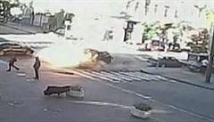 Novináře, který zahynul při výbuchu auta, zlikvidovala podle videa žena