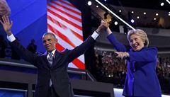 Obama: V sázce je budoucnost USA i světa, volte Clintonovou