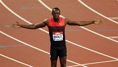 Musím se Gatlinovi smát, kritiku zrovna od něj nechápu, řekl o rivalovi Bolt