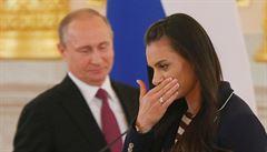 Isinbajevová bere věci do vlastních rukou. Chce být šéfkou ruské atletiky