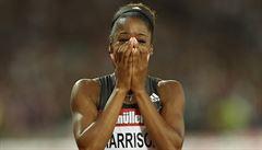 Rekord po 28 letech. Harrisonová posunula čas na 100 metrů překážek