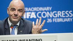 Fotbalové MS v Kataru se 48 týmy? Podle předsedy FIFA Infantina to je možné