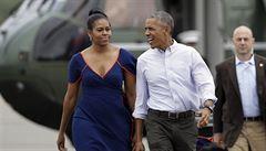 Obama zahájil tradiční dovolenou na ostrově Martha's Vineyard