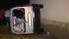 Makedonii ochromily lijáky a silný vítr. O život přišlo 15 lidí