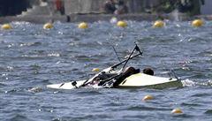 Hrozný, měla jsem plnou loď vody a potápěla jsem se, vzteká se Topinková Knapková