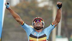 Cyklistický závod plný zvratů vyhrál Van Avermaet, Češi ani Froome nestačili