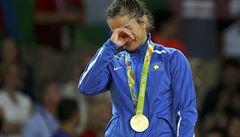 Kosovo má díky judistce Kelmendiové první olympijskou medaili v historii