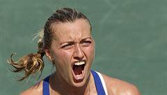 Elite Trophy: Kvitová deklasovala Vinciovou a zahraje si se Strýcovou o postup