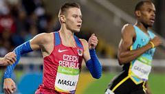 Maslák doběhl třetí na Diamantové lize v Oslu desetinu za svým letošním maximem