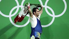 Íránský Herkules překonal dva světové rekordy. 'Chtěl jsem jen soupeře zaskočit,' tvrdí