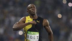 Král Bolt opět zničil na stovce Gatlina. Světový rekord předvedl čtvrtkař Van Niekerk
